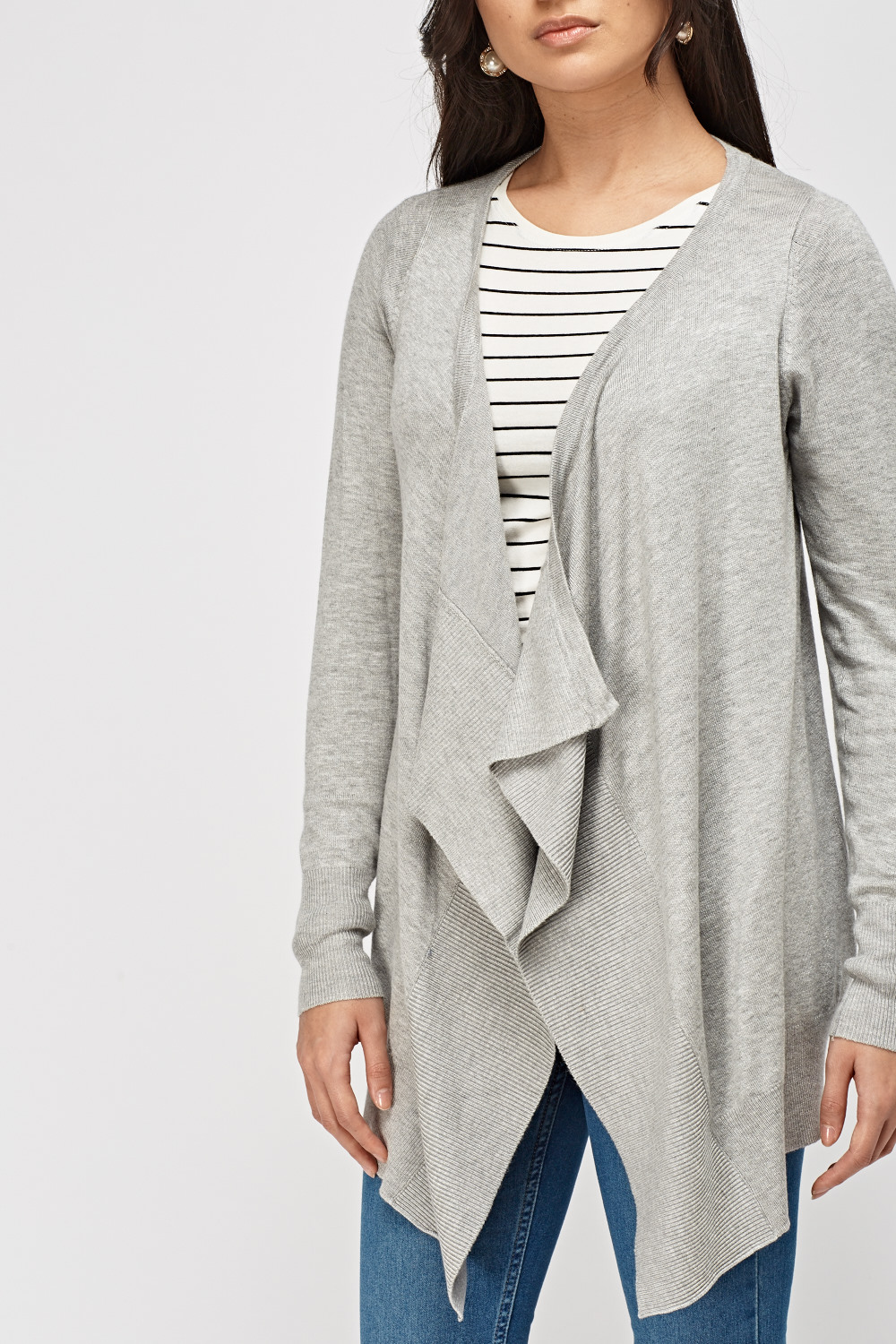 Waterfall Thin Knitted Cardigan - 4 Colours - Just £5