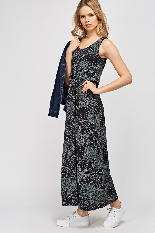 70437ca3053 Patchwork Printed Maxi Dress - Just £5