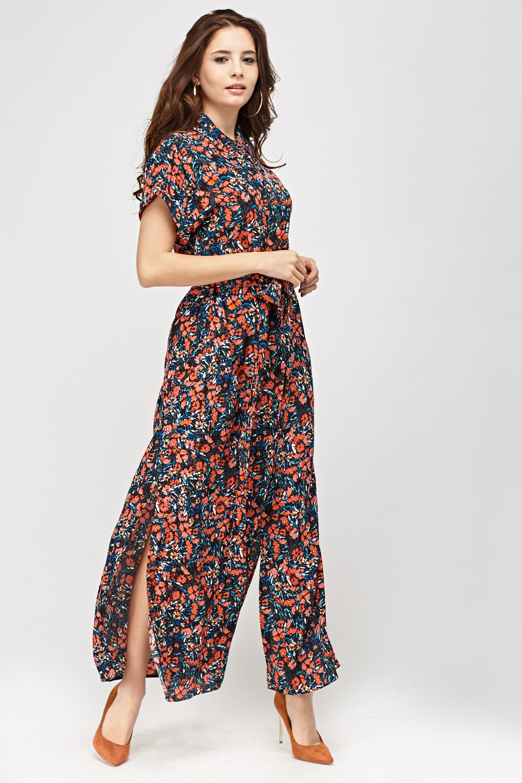 Button Up Floral Maxi Dress Just 163 5