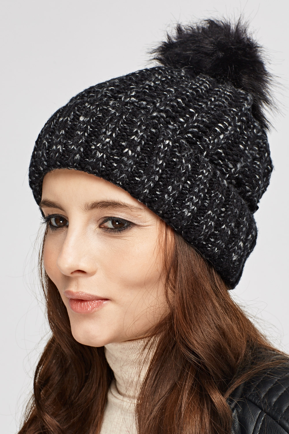 Speckled Pom Beanie Hat - Just £5 b8f240209aa