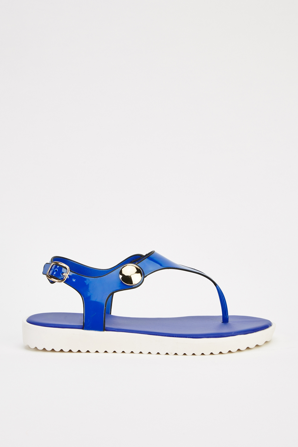 58a623c73 Jelly Flip Flop Sandals - Navy - Just £5