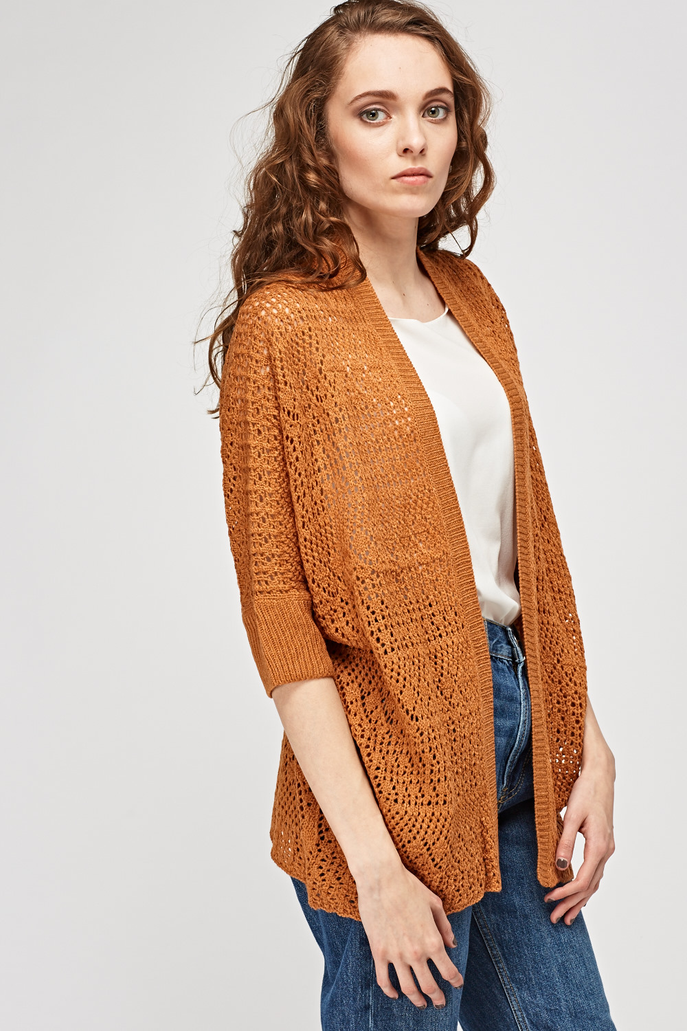 Loose Knit Jumper with Pocket - from Miss Sugar UK