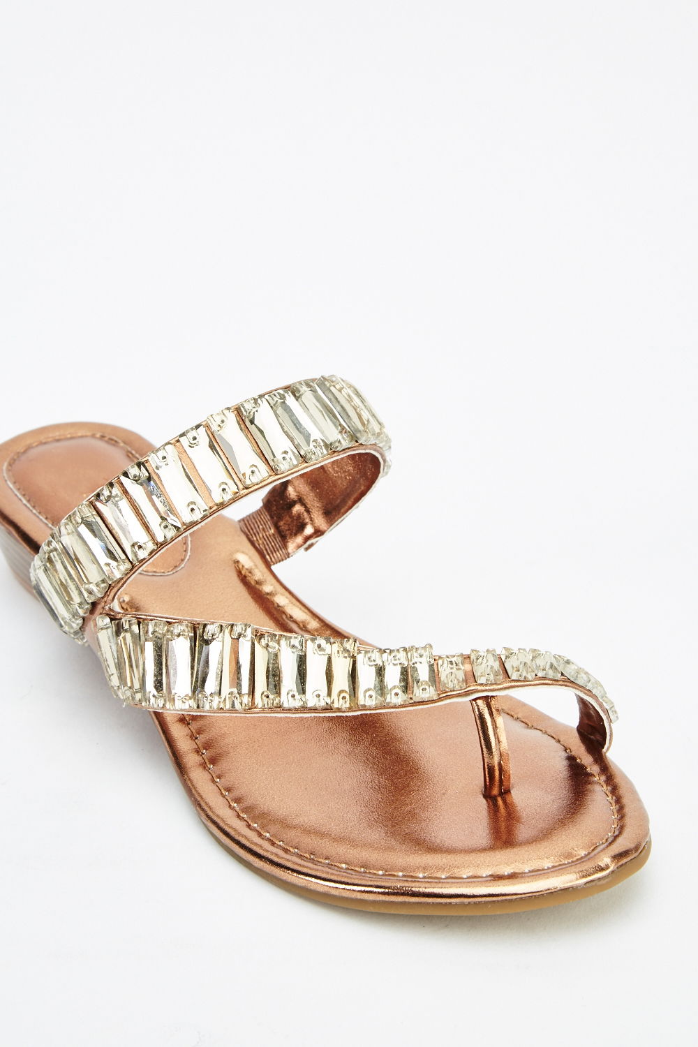 8442876d1 Embellished Strap Flip Flop Sandals - Just £5