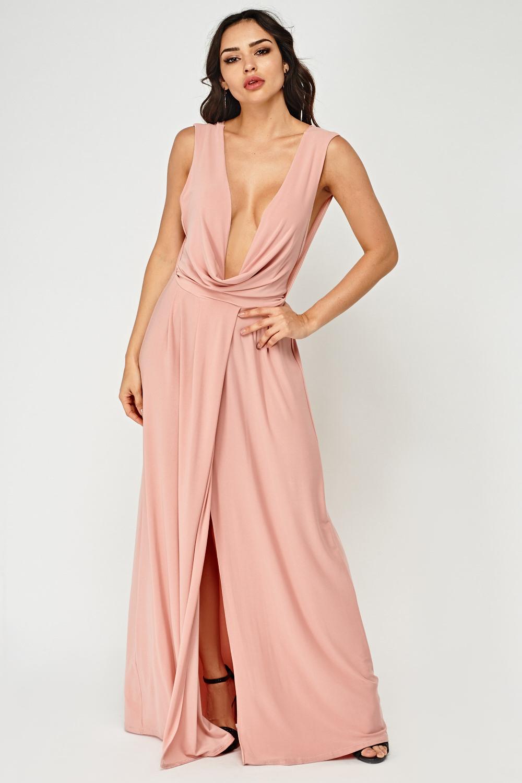 710aa1d39eb Plunge Maxi Dress - Just £5