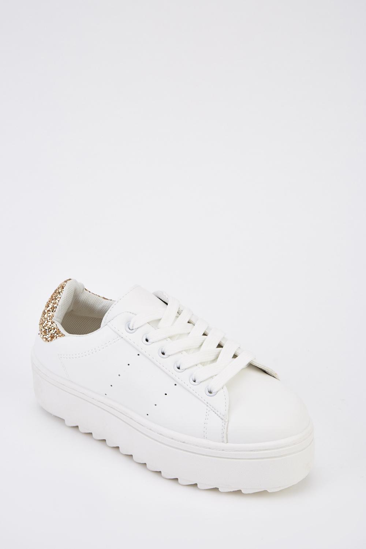 9943bfbc275e Ash Cult Lace-Up Platform Sneakers - Just £5