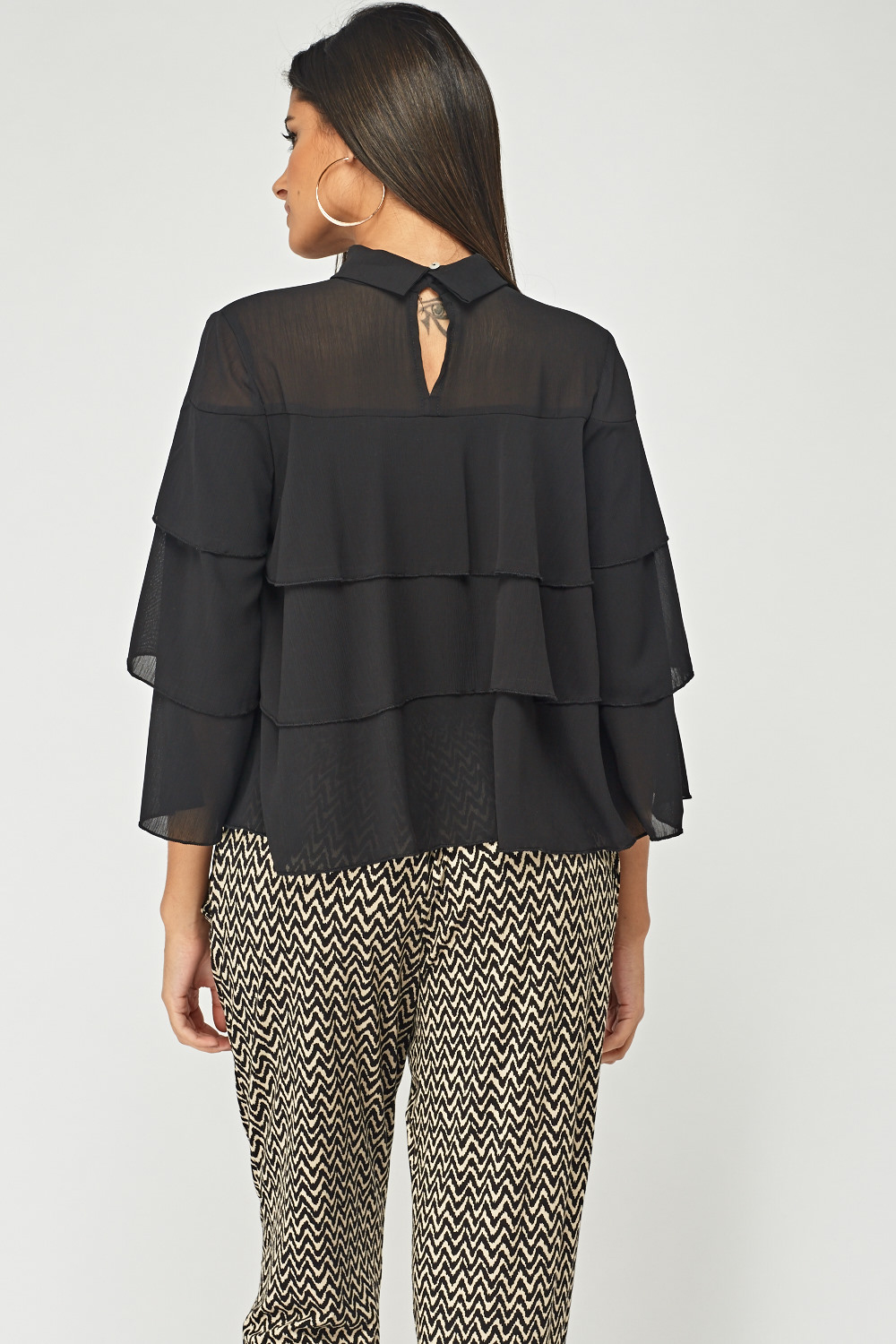 1f6d7673a6abdc Frilly Layered Blouse - Just £5