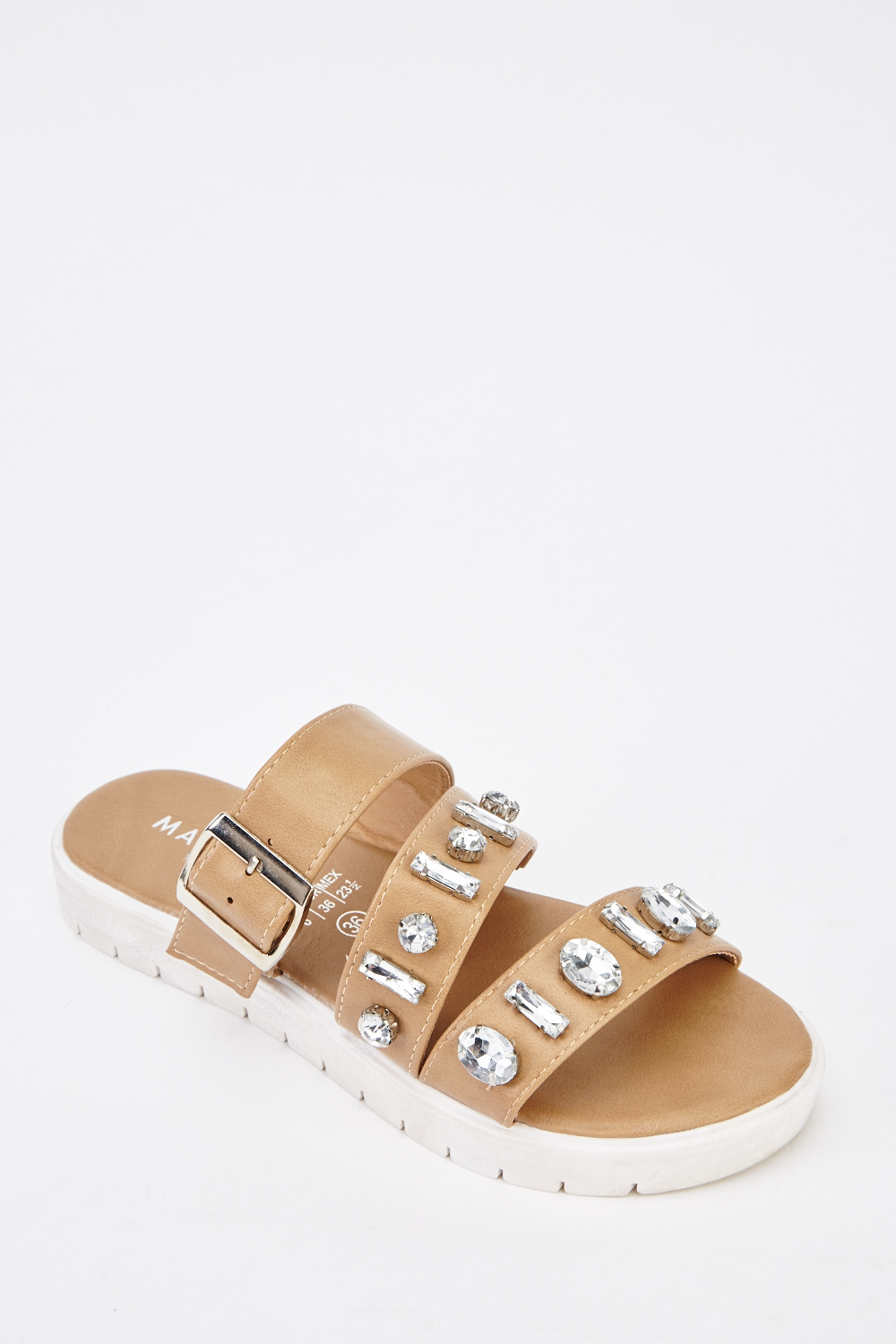 84e032c8fe4 Embellished Strappy Sandals - Just £5