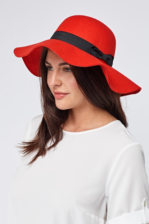 Black Bow Trim Felt Floppy Hat - Just £5 36f3e4ae336