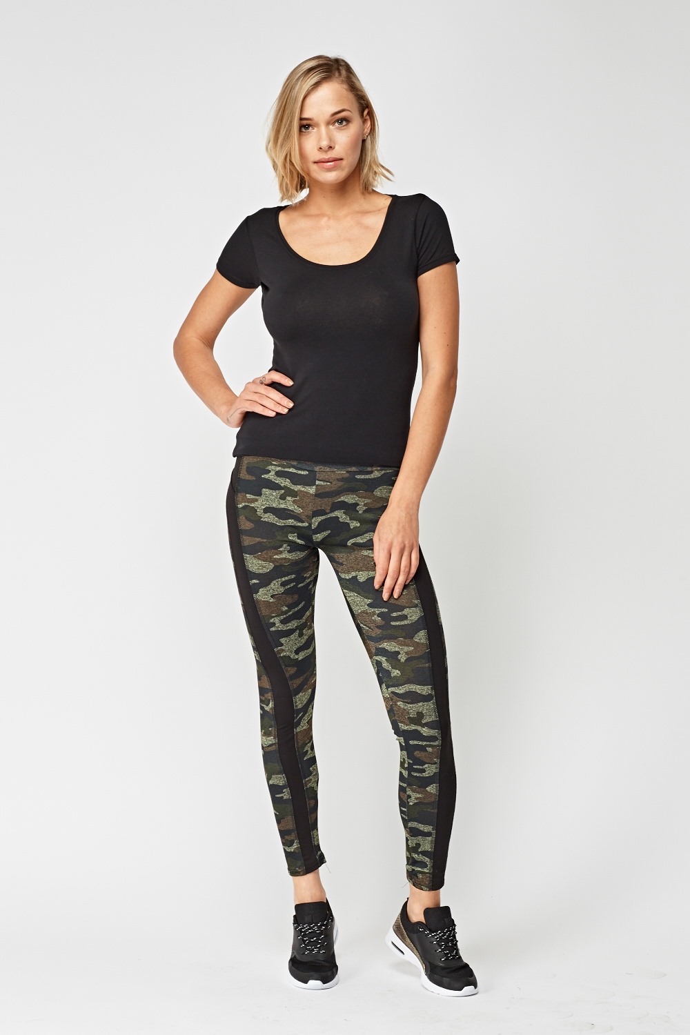 d83958eb43 Pack Of 2 Camouflage Sports Leggings - Just £5