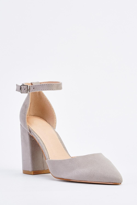 bcbd58c6cd0 Pointed Toe Block Heel Pumps - Just £5