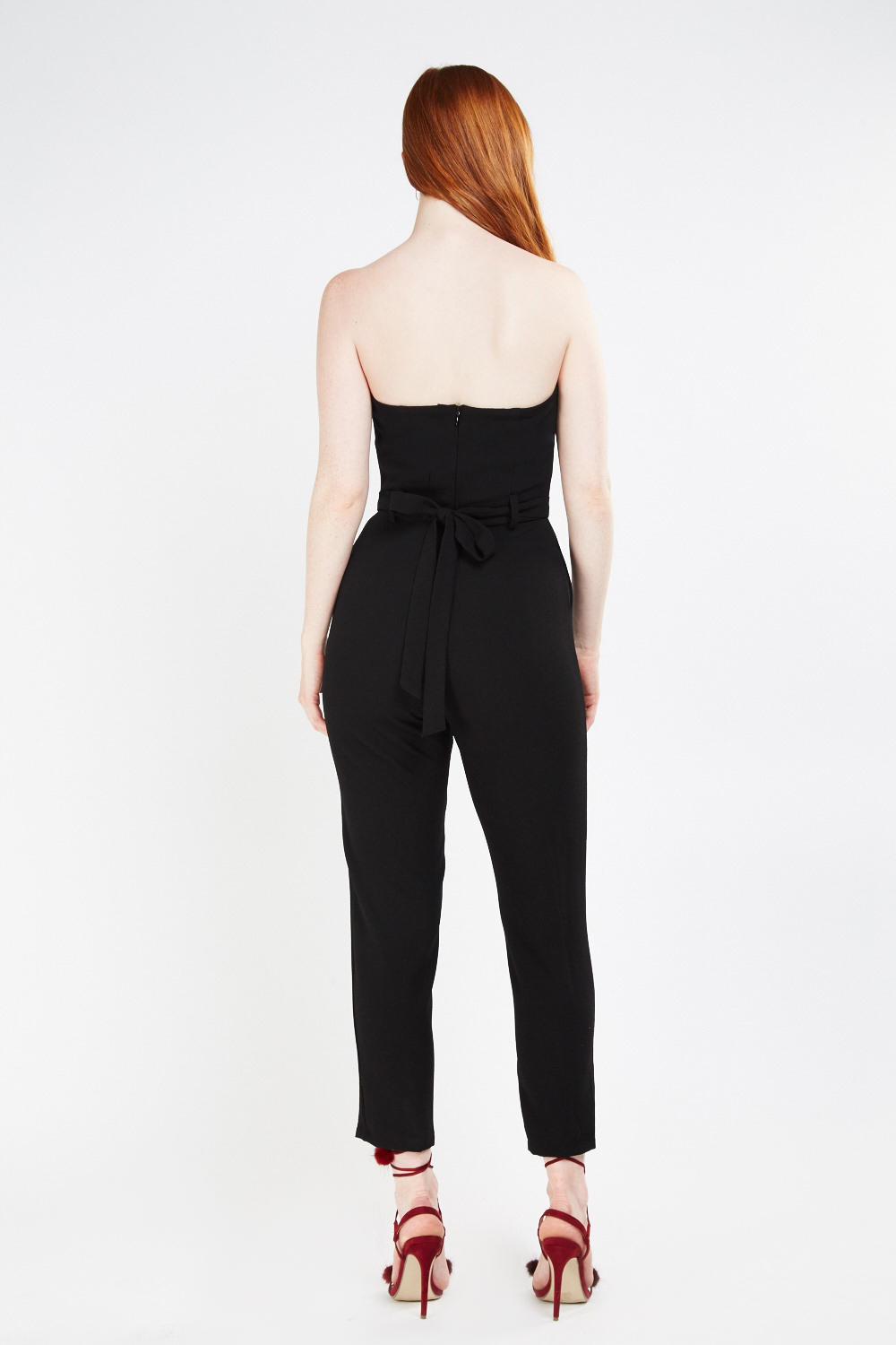 b1a08c6c19a2 Bandeau Skinny Sweetheart Jumpsuit. Click on the image to zoom
