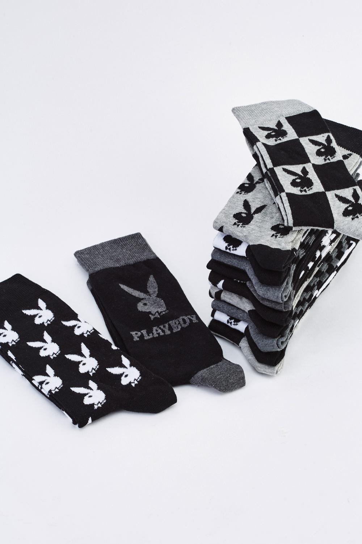 12 Pairs Of Playboy Socks - Just £5