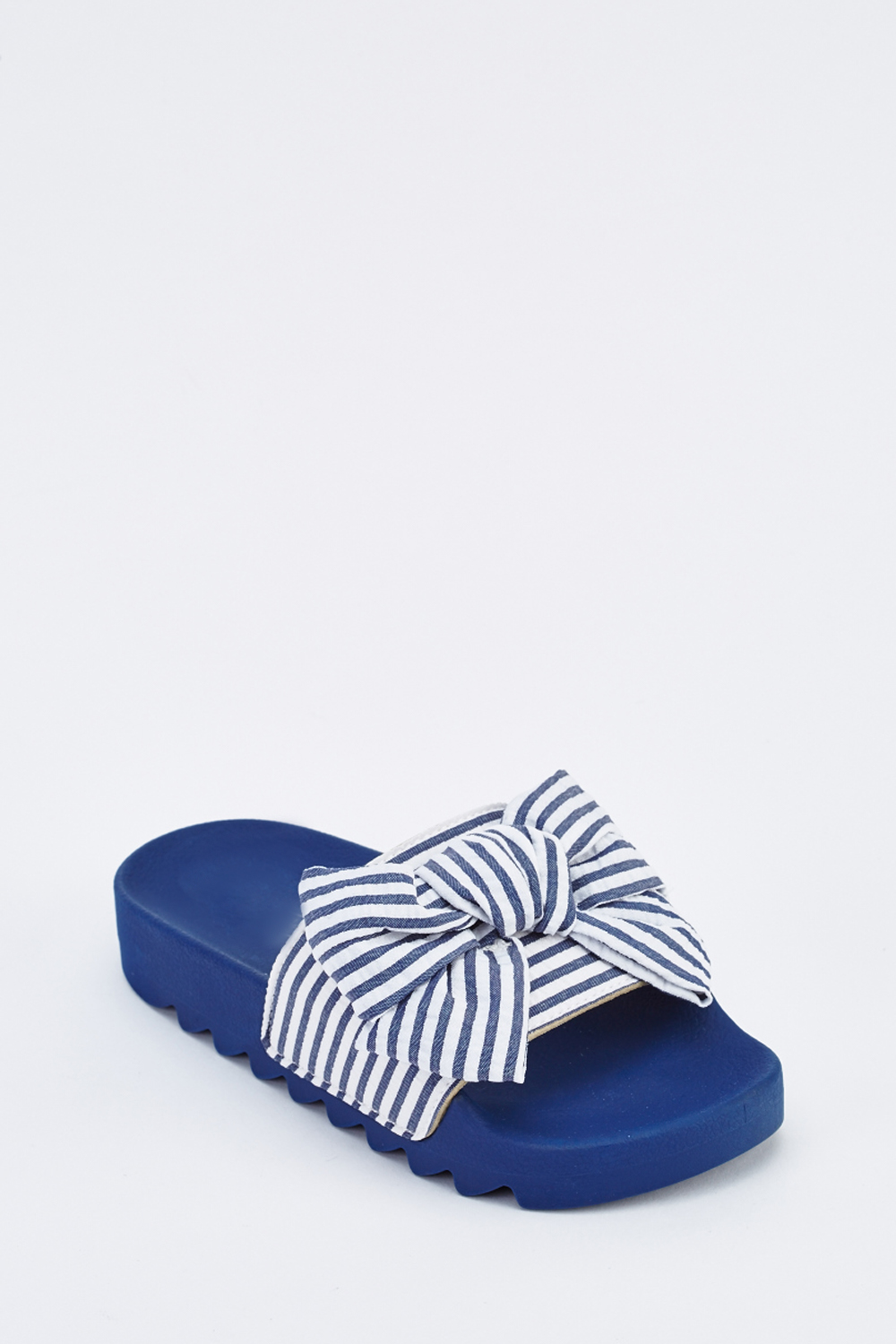 8a71afed0 Textured Striped Bow Sliders - Just £5