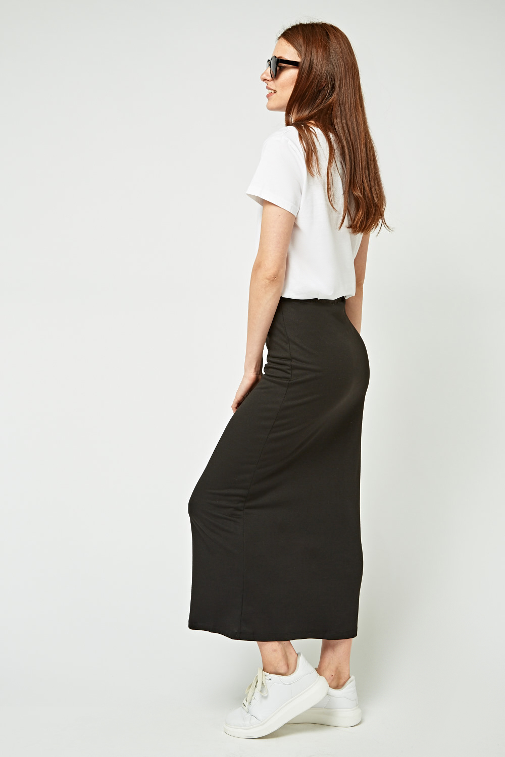 d7315dc395f How To Style High Waisted Maxi Skirts