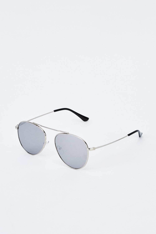 d465cef5372a Mirrored Aviator Sunglasses. £5.00. ColourSilver Black