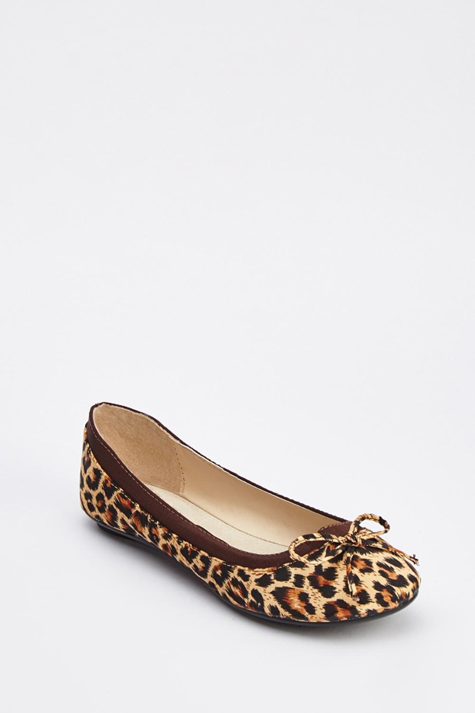 286a73d15db5 Leopard Print Ballet Pumps - Just £5