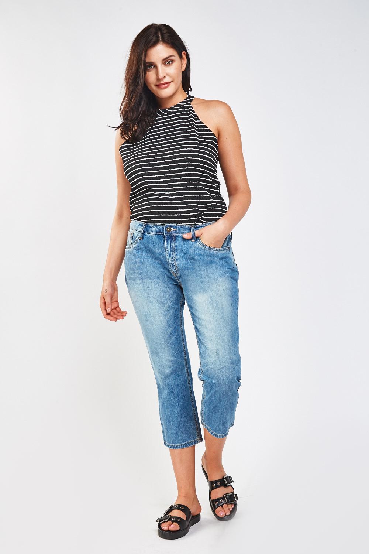 Distressed Vintage Boyfriend Jeans - Just $7