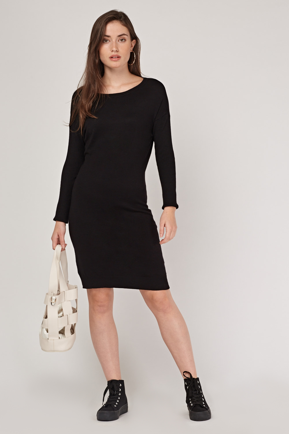 for sale discount up to 60% great deals 2017 Fine Knit Midi Jumper Dress - Just £5