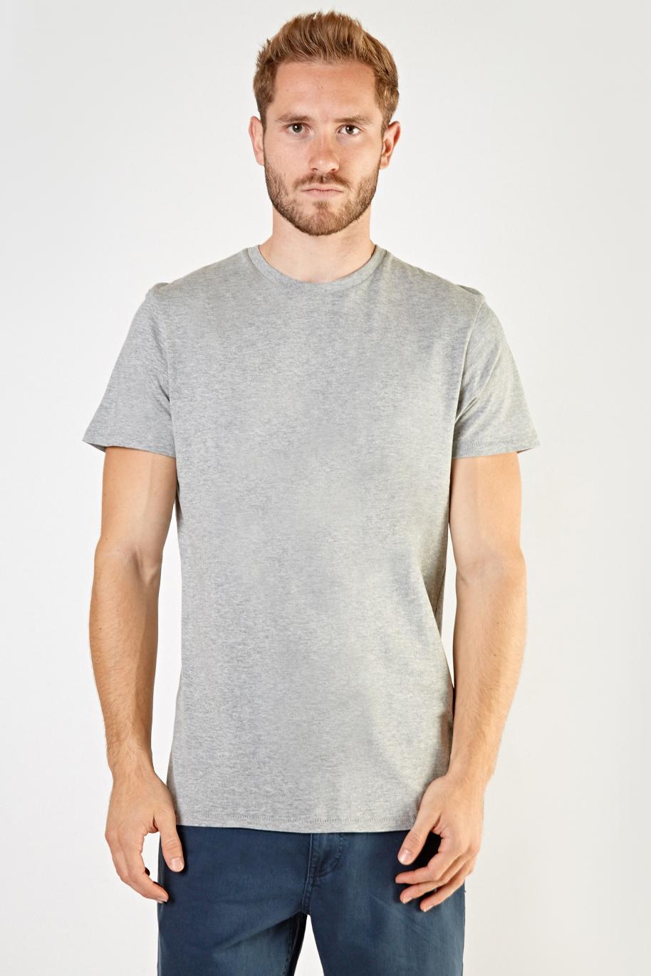 73abc03652b Short Sleeve Mens T-Shirt - Grey - Just £5
