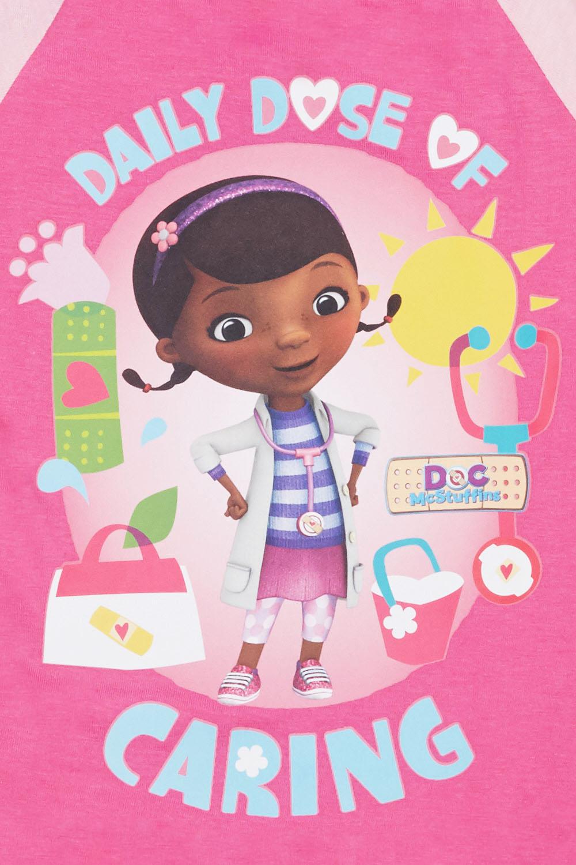 4e367b656650 Doc Mcstuffins Print Top And Short Set - Pink Multi - Just £5