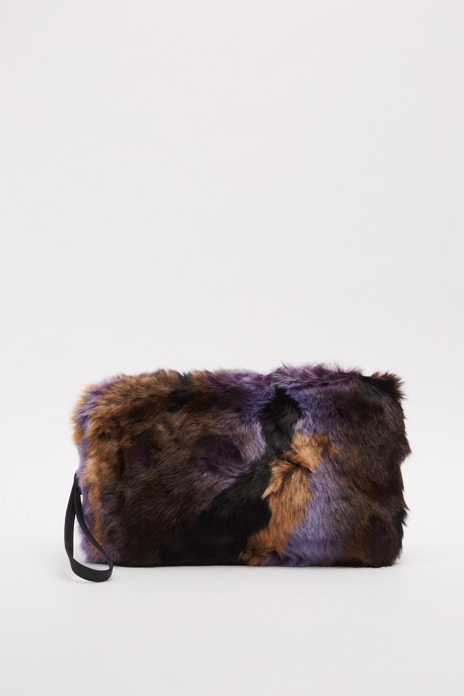 Faux Fur Wristlet Clutch Bag - Just £5 5492faac1bece