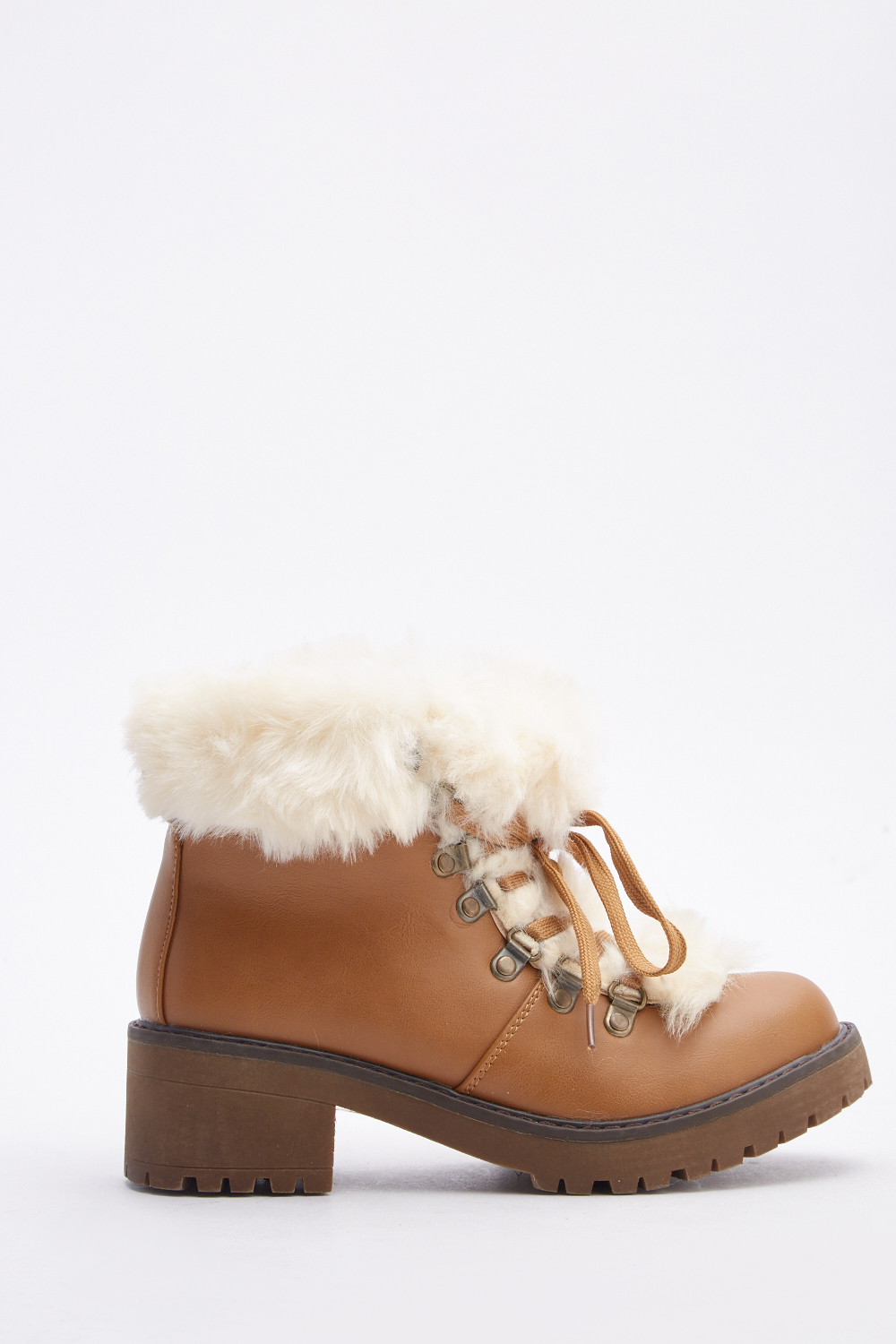 100% quality rock-bottom price thoughts on Fluffy Lace Up Ankle Boots - Just £5