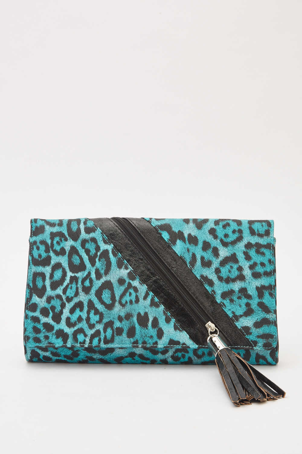 84db696d8131 Faux Leather Animal Print Clutch Bag - Just £5