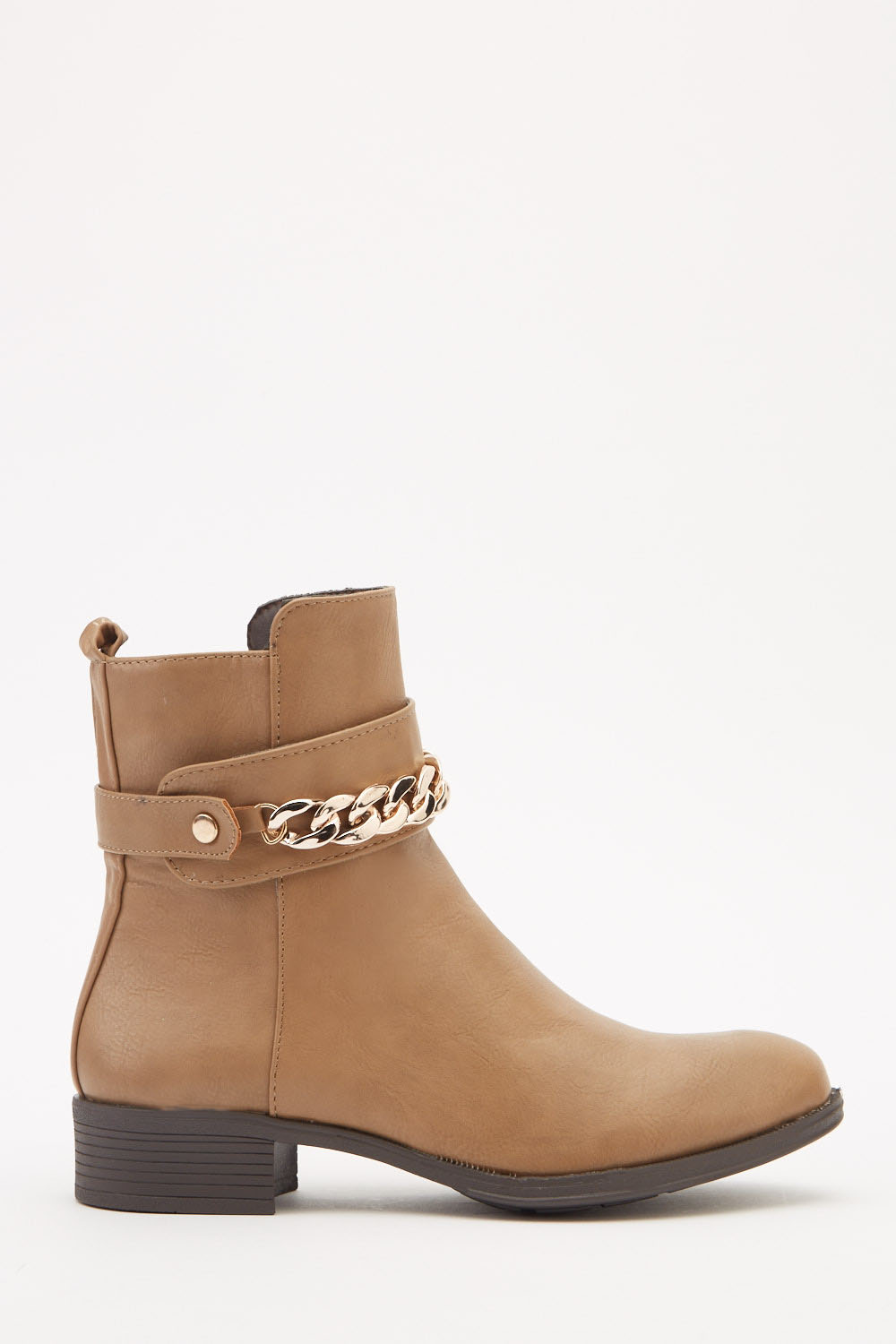 f6b2001bd28 Chain Detailed Ankle Boots - Just £5