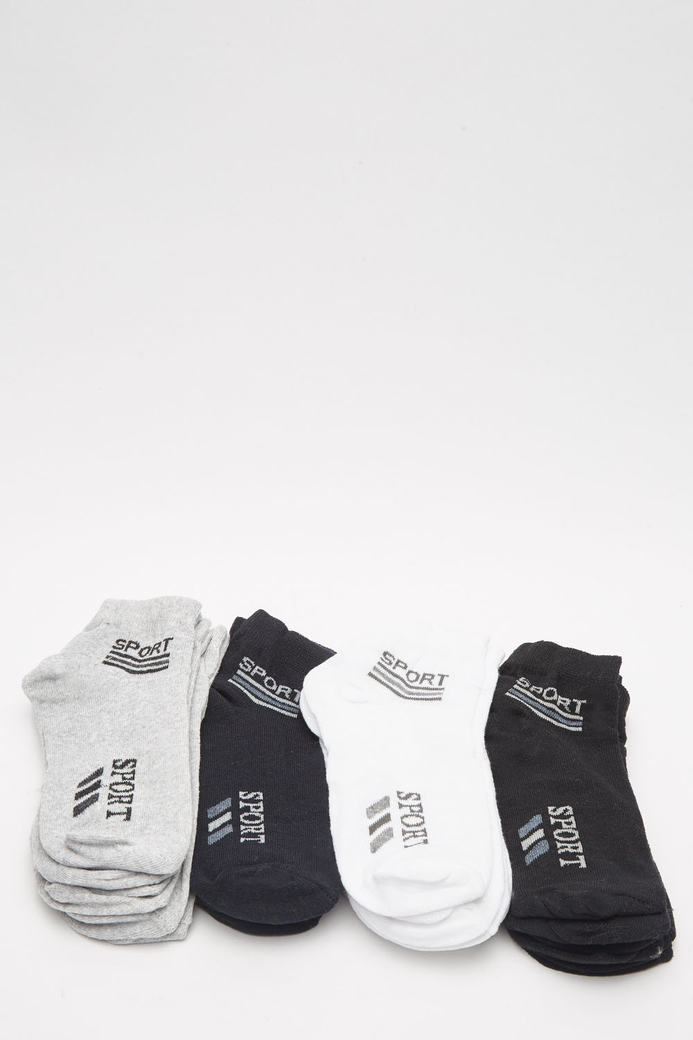 fce56ca51b6 Pack Of 12 Mens Sports Mini Socks - Just £5
