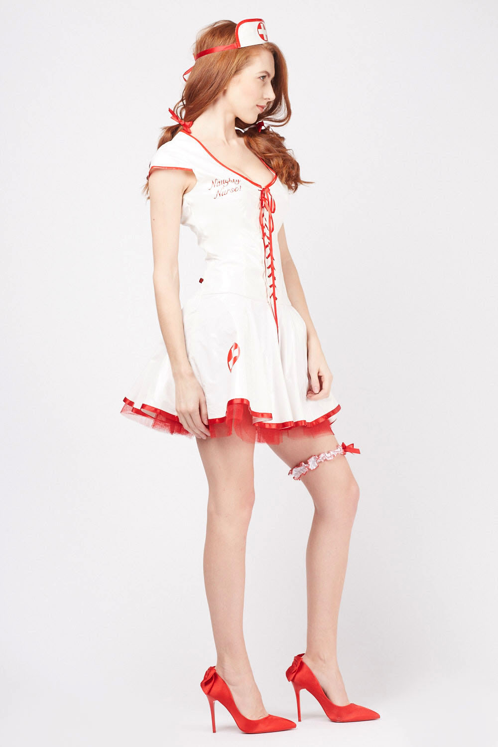 3e5051dd9e290 PVC Naughty Nurse Outfit Set - Just £5