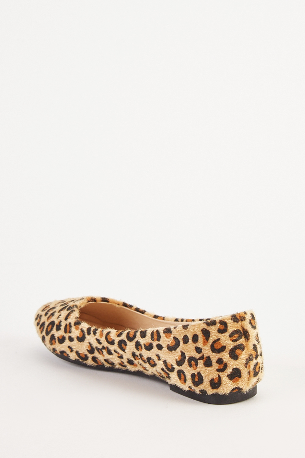 4494dd2526c9 Slip-On Leopard Flat Pumps. Click on the image to zoom