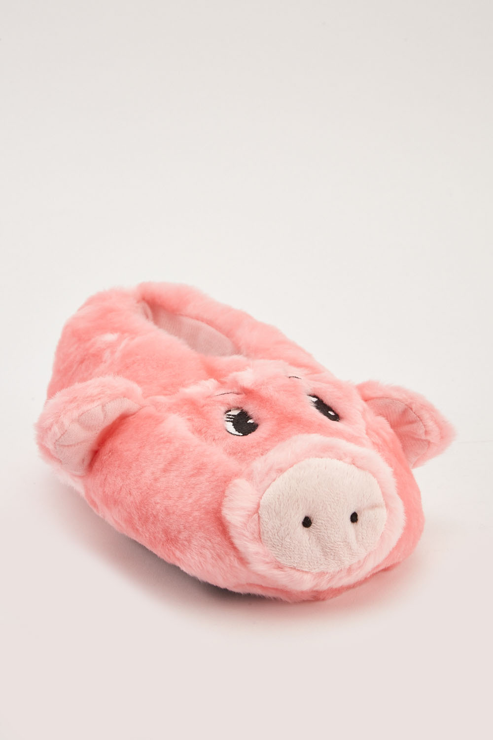 8433b508ebf9 Fluffy Indoor Pig Slippers - Pink - Just £5