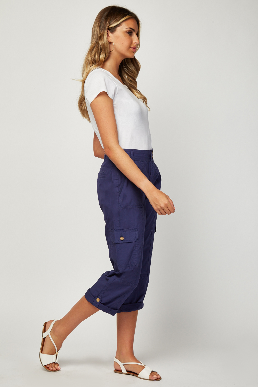 Flap Pocket Side Combat Trousers Just 163 5