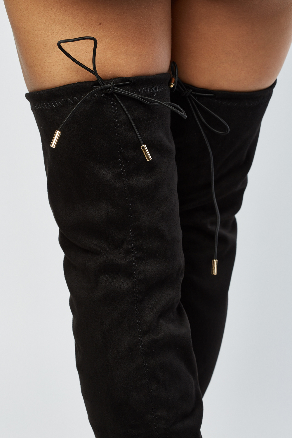Over The Knee Peep Toe Boots Just $6
