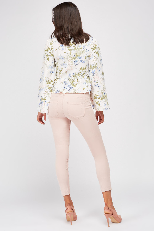 Light Pink Skinny Jeans Just $6