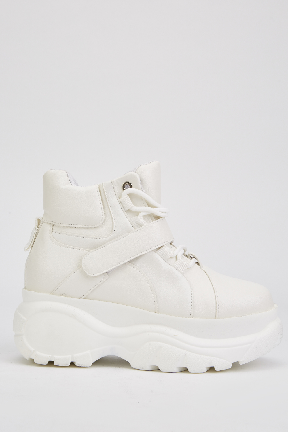 Chunky High Top Sneakers - Just $6