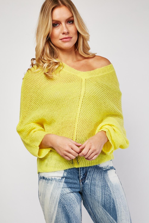 Loose Knit Cardigan - Just $3