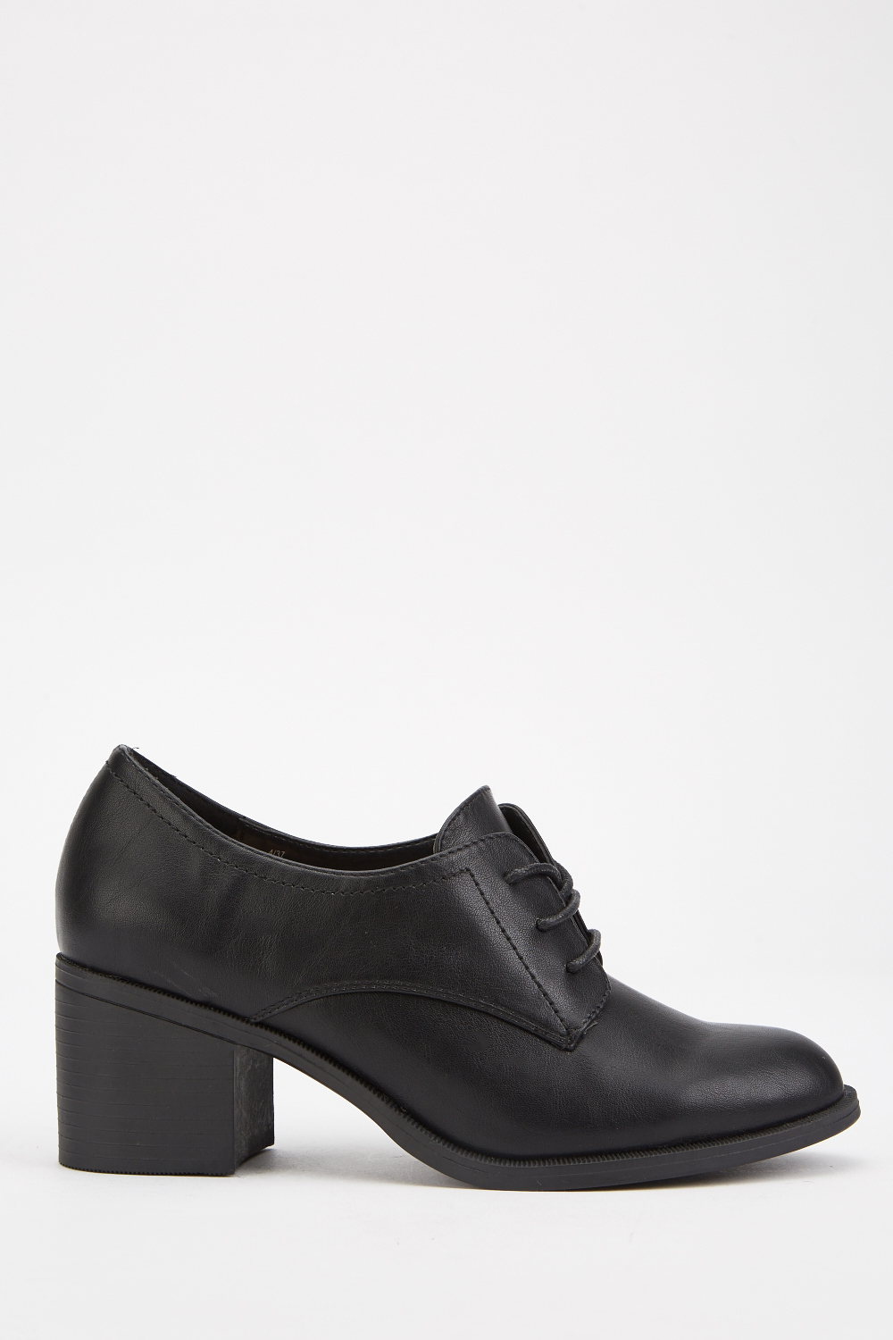 white heeled oxford shoes