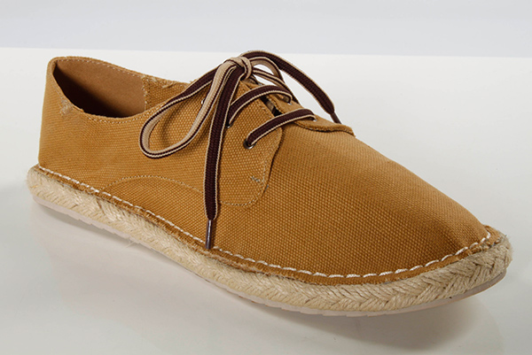 Woven Sole Canvas Flat Shoes