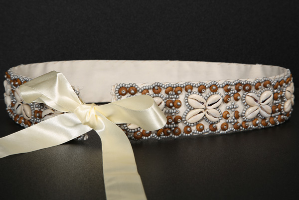 Seashell Flower Design Handmade Belt