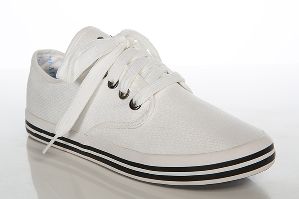 Shimmer Canvas Plimsoll Shoes